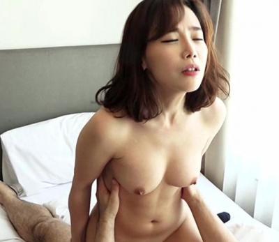 〔韓国人〕スレンダーな美人お姉さんがAVデビュー!綺麗なおっぱいの美女とのセックスをハメ撮り!