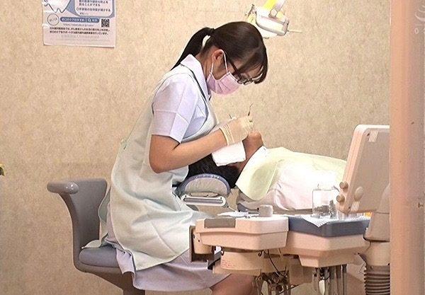 【桐谷なお】エッチな誘惑する歯科衛生士wエッチなご奉仕するお姉さんをハメ撮りw着衣セックスを激写したエロ動画w